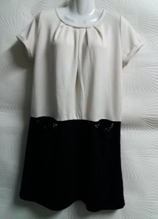 Отличное трикотажное платье с заниженной талией
