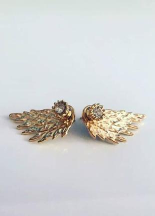 Сережки крылья