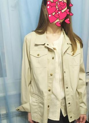 Классная номерная рубашка,облегченный пиджак американского бренда jm collektion