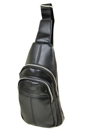 Рюкзак dr. bond 1105 на плечо черный