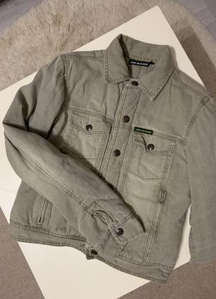 Куртка джинсовая на кнопках 🌕🌑