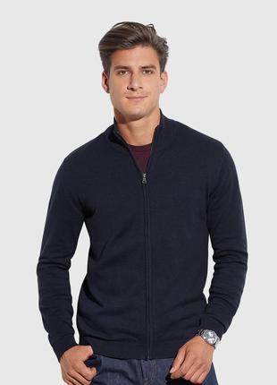 Кофта мужская tom&rose xl темно-синяя польша