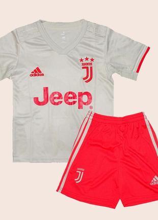 Детская футбольная форма ювентуса 19-20 для детей выездная adidas (2832)