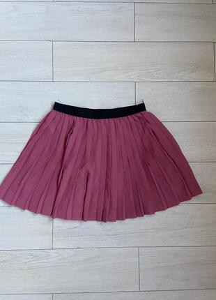 Летняя юбка плиссированная