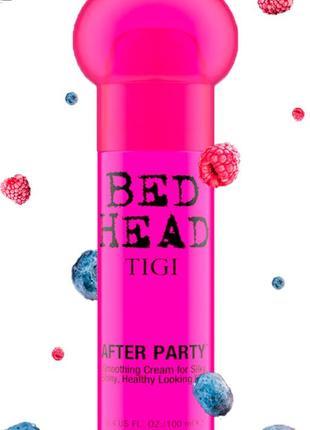 Крем для укладки и рестайлинга tigi bed head after party smoothing cream 100 мл