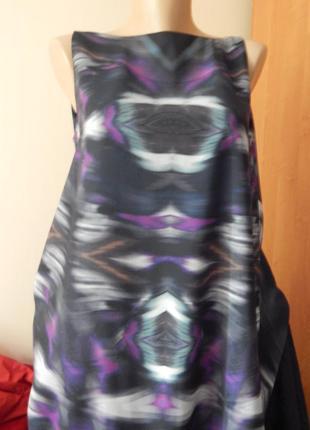 Платье, туника с открытой спиной абстракция2 фото