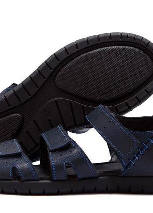 Мужские кожаные сандалии