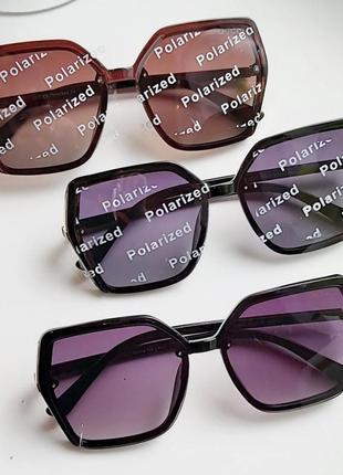 Поляризовані сонцезахисні окуляри на вузьке середнє обличчя