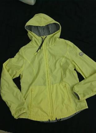 Куртка ветровка двусторонняя,спортивная кофта