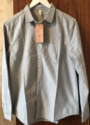 Новая модная мужская рубашка 44 р {s}