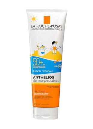 Солнцезащитный крем la roche-posay anthelios dermo-pediatrics spf 50 половина тюбика
