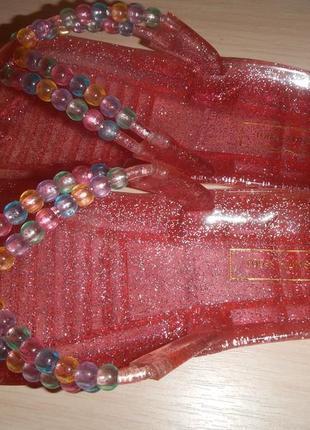 Силиконовые вьетнамки kunststoff р.38(24,5см) шлепанцы4 фото