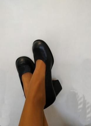Туфли franco paolucci, на плотную ножку, брендовая обувь в распродаже, цены снижены!