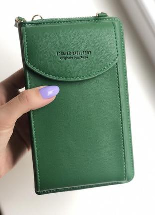 Женская сумочка-кошелек baellerry forever young green