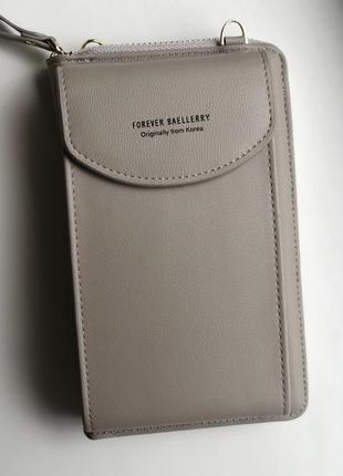 Женская сумочка-кошелек baellerry forever young beige
