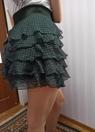 Красивая лёгкая юбка