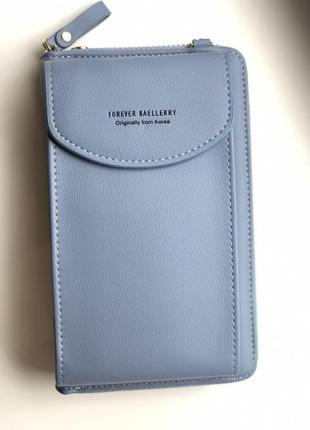 Женская сумочка-кошелек baellerry forever young blue