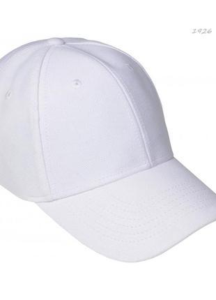 Белая кепка бейсболка хлопок , 55-60 р, есть цвета фото реал