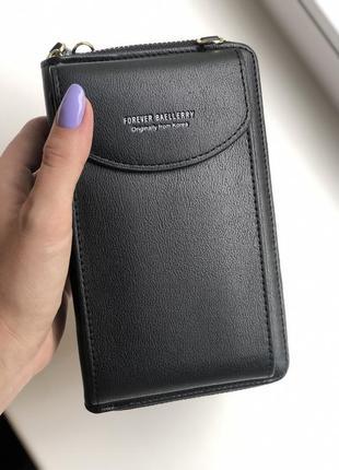 Женская сумочка-кошелек baellerry forever young black