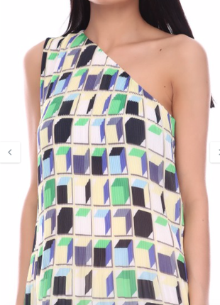 Коктейльное асимметричное платье-плиссе &other stores