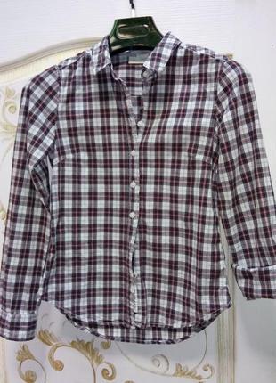 Женская рубашка h&m р. 34/s