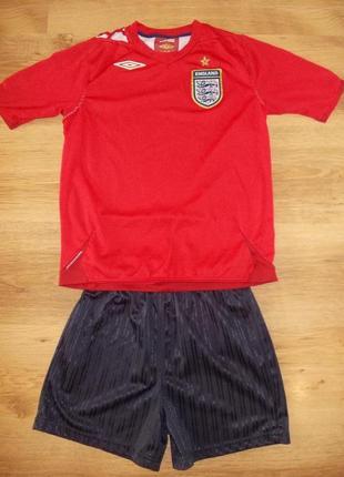 Футбольная форма umbro на 10-11 лет рост 140-146 см