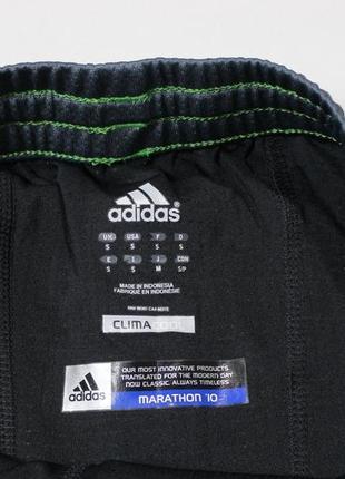 Топовые шорты с вшитыми лосинами от adidas marathon 105 фото