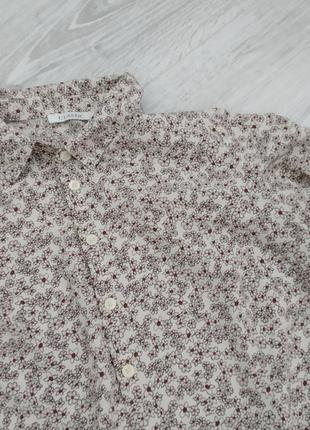 Лёгкая блуза с длинным рукавом