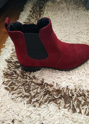 Кожаные ботинки челси4 фото