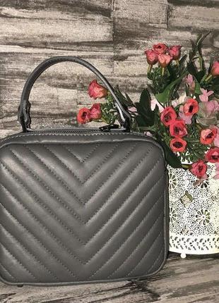 Кожаная сумочка кроссбоди италия сумка кожа