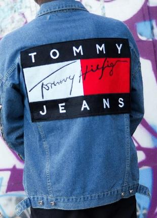 Джинсовка,джинсовая куртка,унисекс,оверсайз