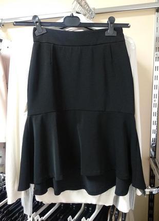 Черная юбка с кокеткой love republic