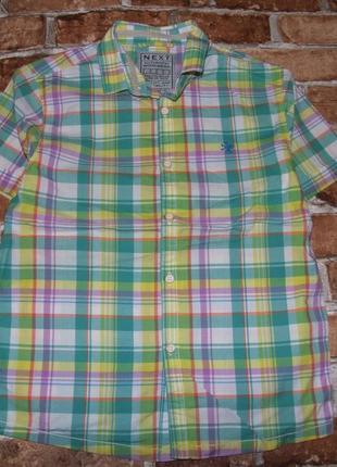 Рубашка тениска мальчику котон 9 лет