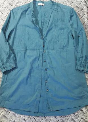 Бирюзовая блуза orsay
