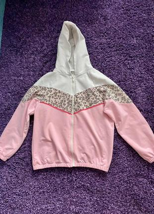 Кофта детская свитер на молнии zara