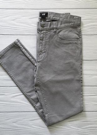Мужские джинсы серые джинси h&m