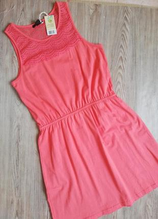 Лёгкий сарафан, платье с кружевом esmara