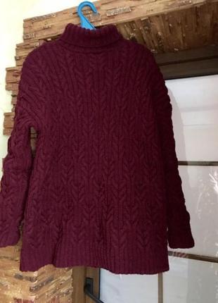 Вязаный свите- платье