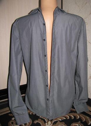 Рубашка мужская 46-48 размер m
