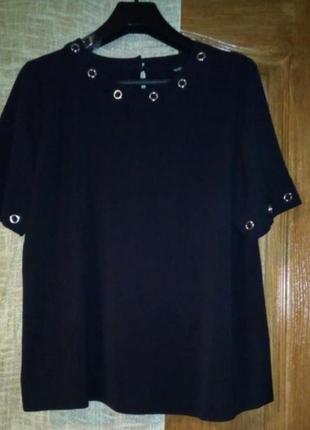 Блуза с заклепками