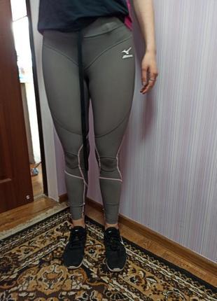 Спортивные лосины mizuno р-р m