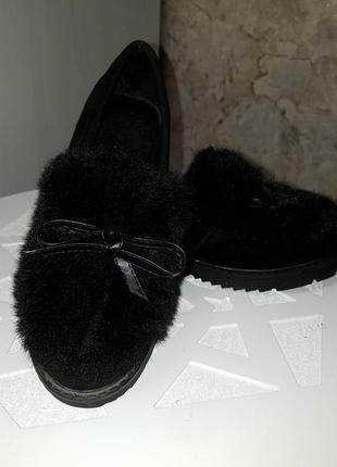 Модные туфли-слипоны
