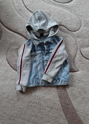 Курточка джинсовая hm