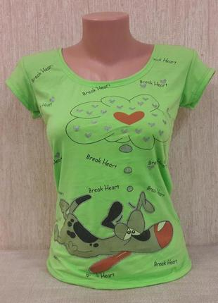Прикольная футболка с весёлым принтом