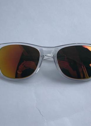 Прозрачные солнцезащитные очки sunman !