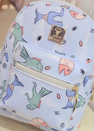 Яркий, стильный, современный рюкзак.