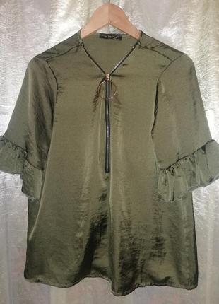 Блуза с замком