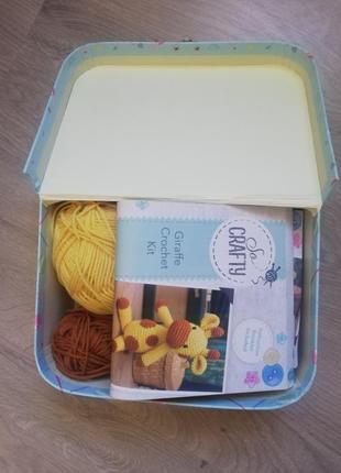 Набор для вязания в подарочной коробке1 фото