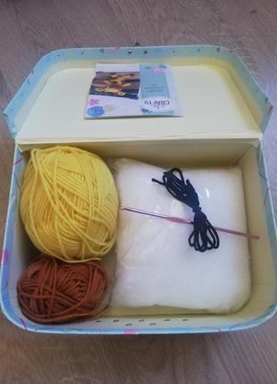 Набор для вязания в подарочной коробке2 фото