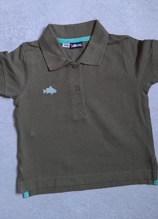 Детская футболка с воротником lupilu